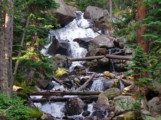 ProTrails Calypso Cascades and Ouzel Falls Wild Basin Trailhead