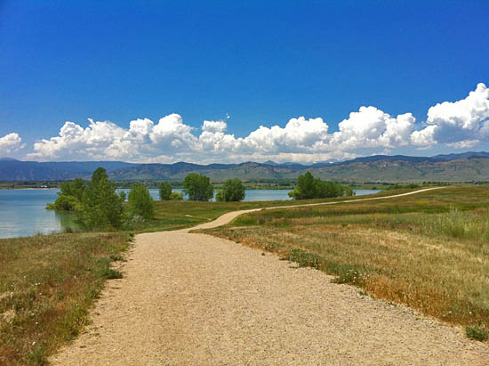 The Boulder Reservoir