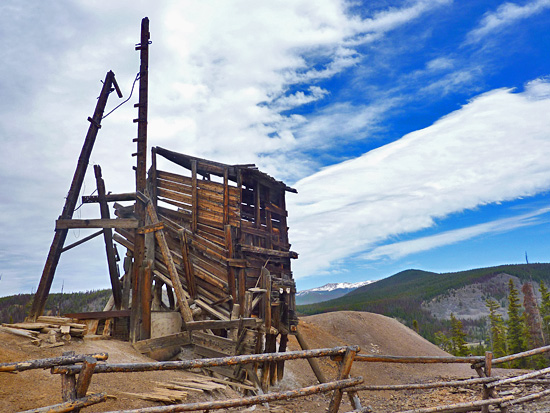 Barber Utah County : ... Barber Mine, French Gulch Road Trailhead, Summit County - Eagle County