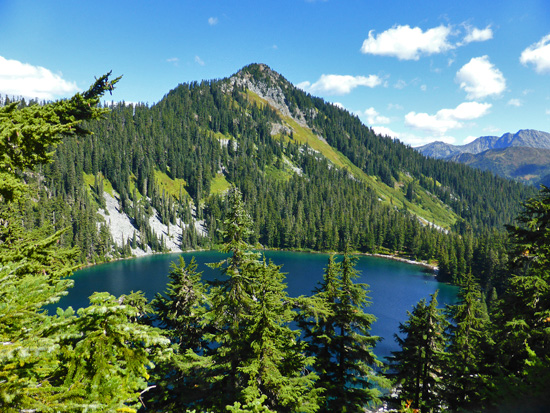 Josephine Lake (4,681') from the PCT