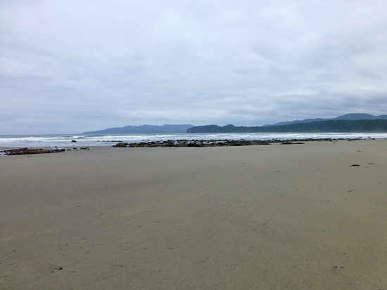 Shi Shi Beach at low tide