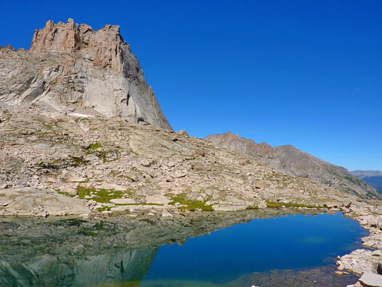 Green Lake, The Spearhead and Chiefs Head Peak