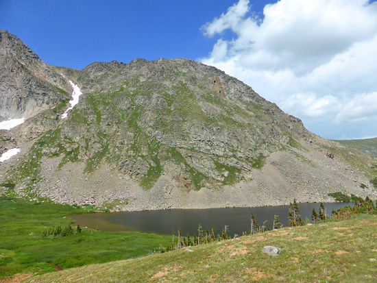 Devils Thumb Lake in the Indian Peaks Wilderness