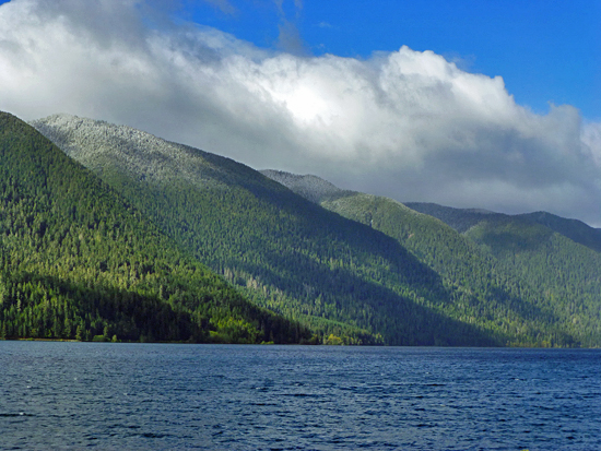 Lake Crescent is one of the largest lakes in all of Washington State