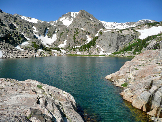 Protrails Wild Basin Area Bluebird Lake Photo Gallery