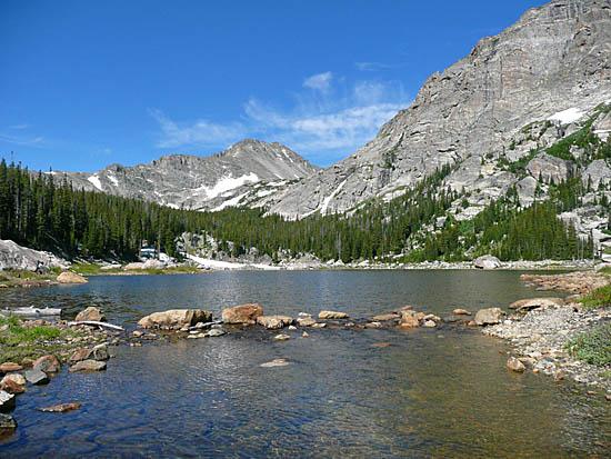Protrails Wild Basin Area Finch Lake And Pear Lake