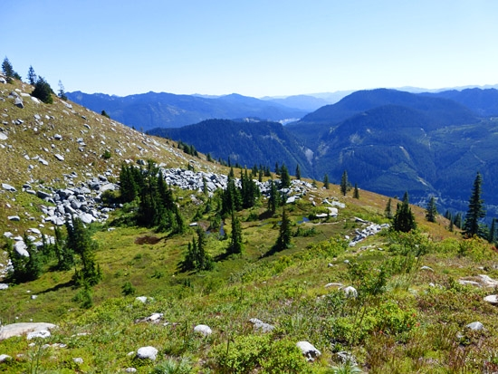 protrails granite mountain pratt lake trail photo gallery
