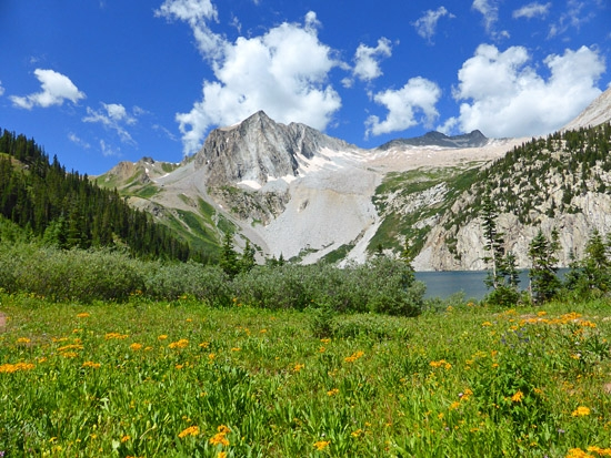 ProTrails | Buckskin Pass and Snowmass Lake, Photo Gallery