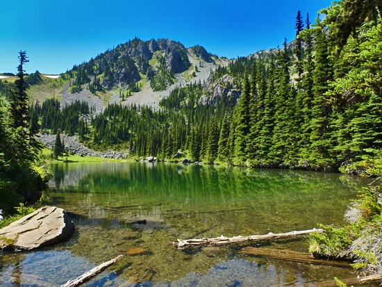 Protrails silver lakes mount townsend photo gallery for Silver lake washington fishing