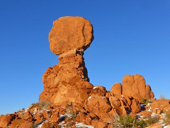 protrails balanced rock balanced rock trailhead arches national