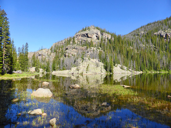 Protrails Lone Pine Lake East Inlet Trailhead Rocky