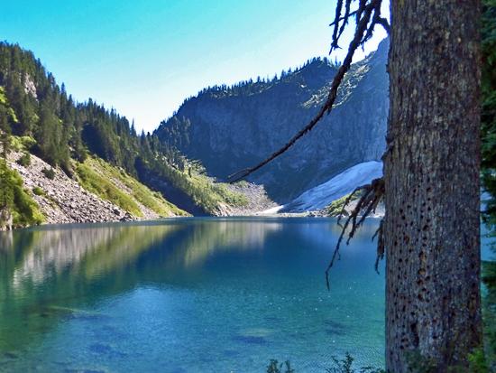 Protrails Lake Serene Bridal Veil Falls Lake Serene
